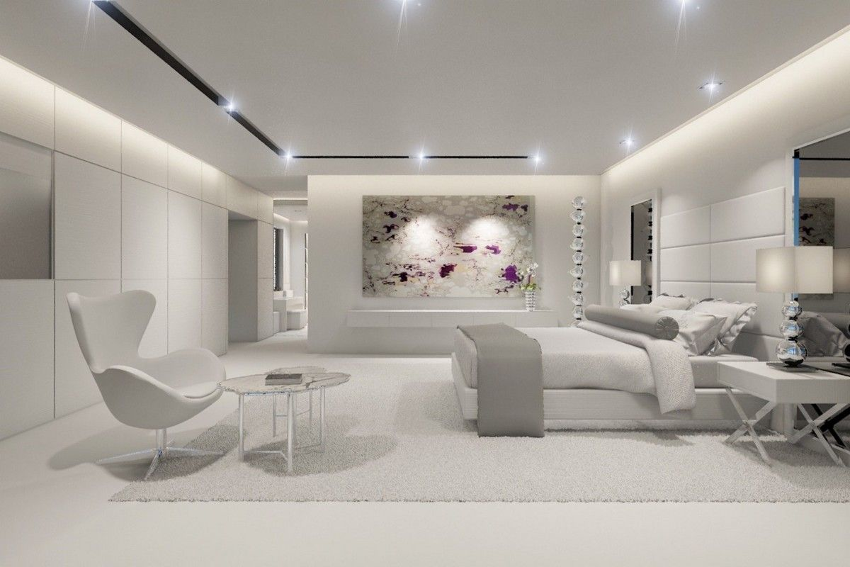 Renderings To Reality A Modern Mansion In Miami Beach Ceiling