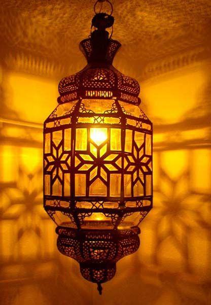 Rustic lanterns -moroccan hanging lantern