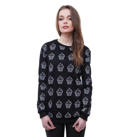 Cupcake black sweater