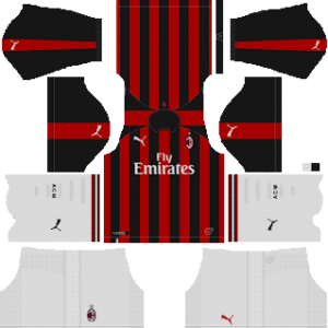 Ac Milan Kits 2018 2019 Dream League Soccer Ac Milan 2019 2020 Kit Dream League Soccer Kits Kuchalana Ac Milan 2019 2020 Dream Leagu Di 2020 Inter Milan Ac Milan Milan