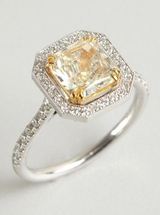 4b5699ab14240 Love the setting of this ring--maybe all diamonds with rose gold ...