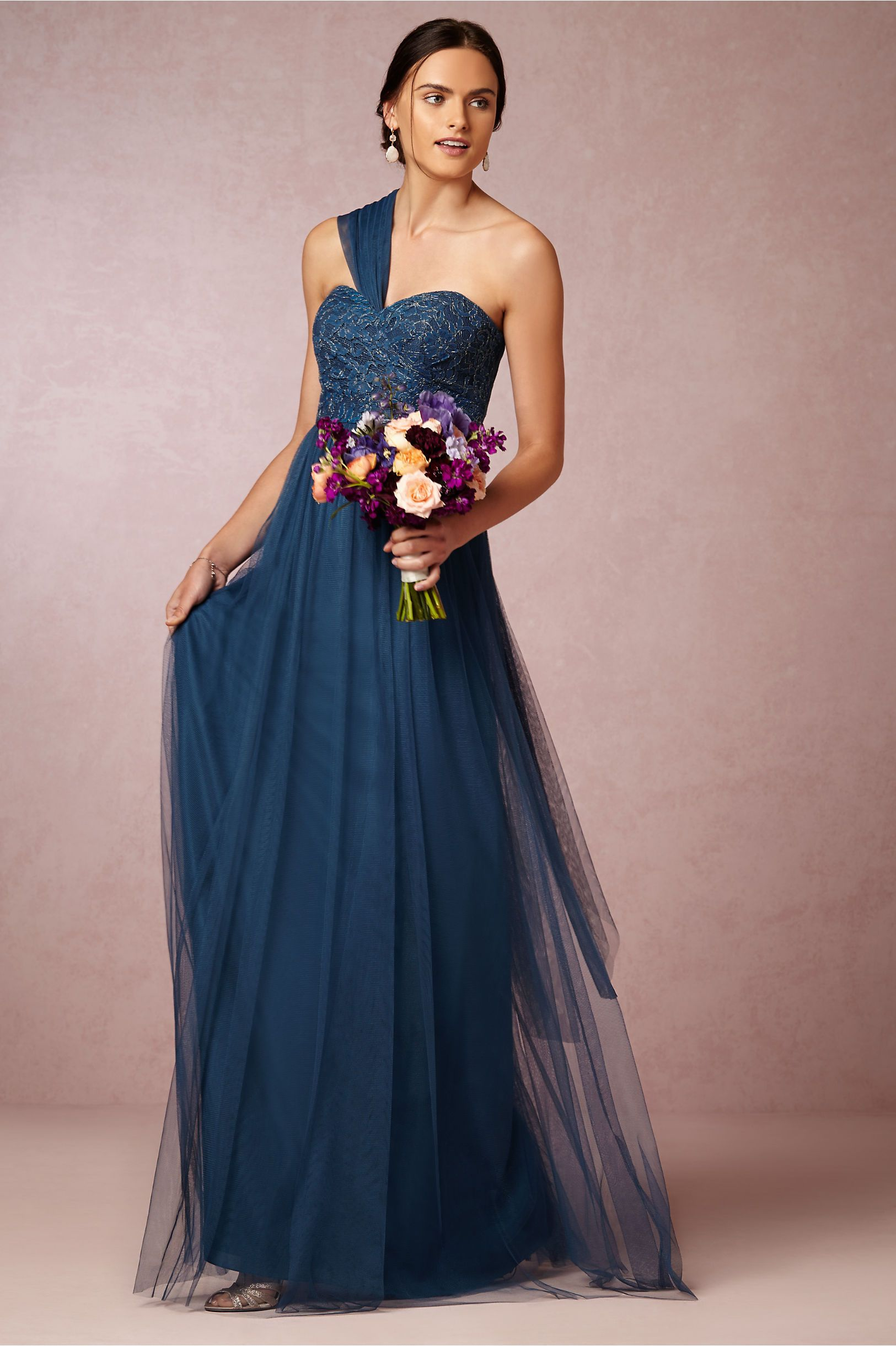 Juliette bridesmaids dress in lapis blue by jenny yoo a bhldn 2015 blue zipper a line floor length bridesmaid dresses by okdress uk ombrellifo Image collections