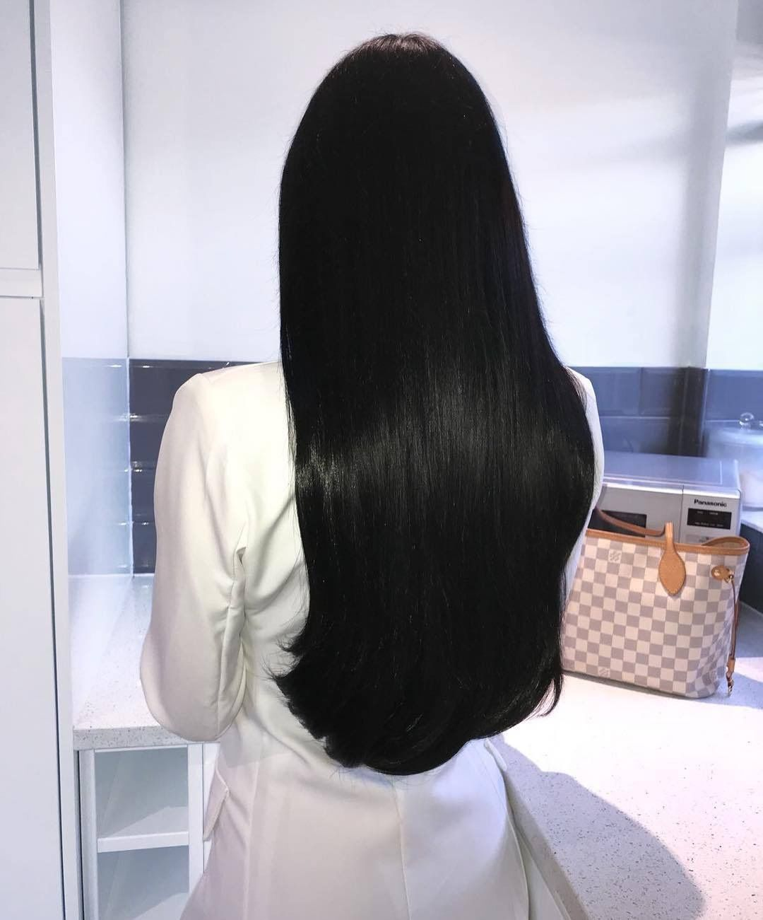 Pin By Nandeezy On Hair Long Hair Styles Hair Styles Straight Black Hair