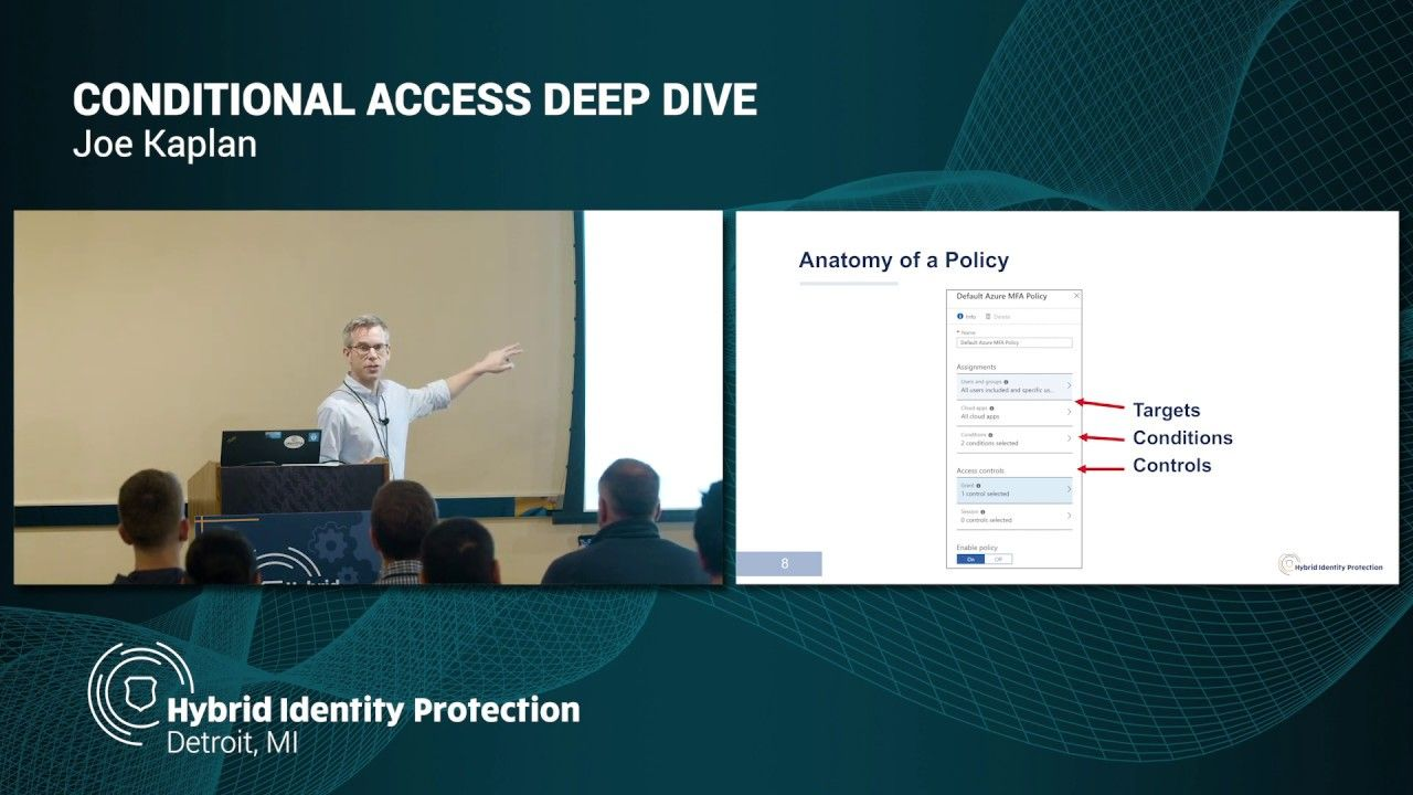 Azure Ad Conditional Access Deep Dive Joe Kaplan In 2020 Identity Protection Ads Deep