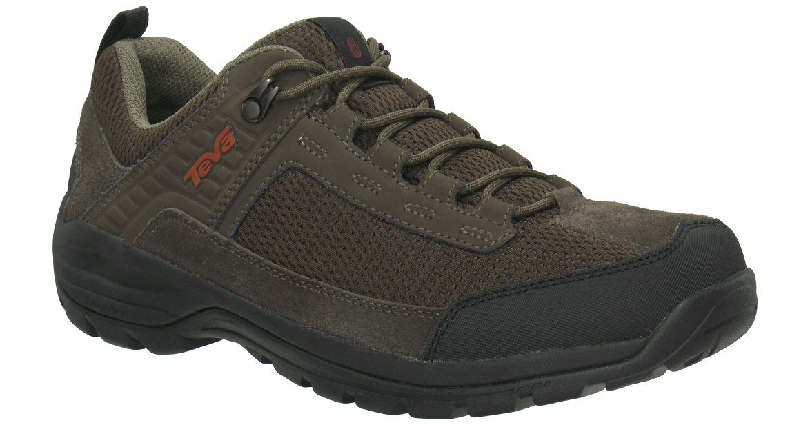 6e62220ac Teva KIMTAH Waterproof Mesh Turkish Coffee Brown Trail Hiking Shoes Men s -  NEW  Teva  WalkingHikingTrail
