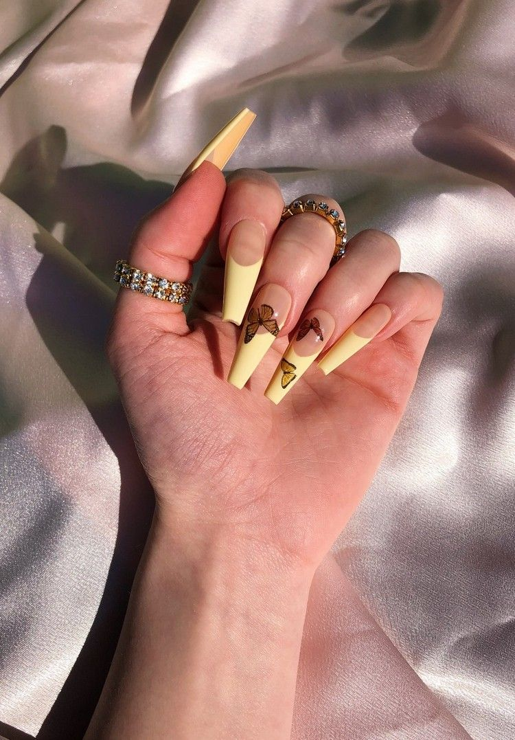 Acrylnägel Sommer 20 Butterfly Nails sind der letzte Hit ...