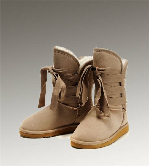 UGG Short Roxy 5828 Sand Boots [UggBoots399] - $112.00