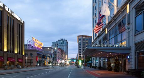Wyndham Cleveland At Playhouse Square Hotels In Oh
