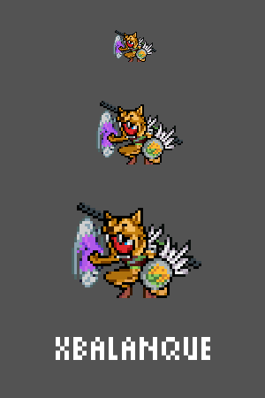 Xbalanque Emote / Sprite we made for Smitewww.twitch.tv/smitegame