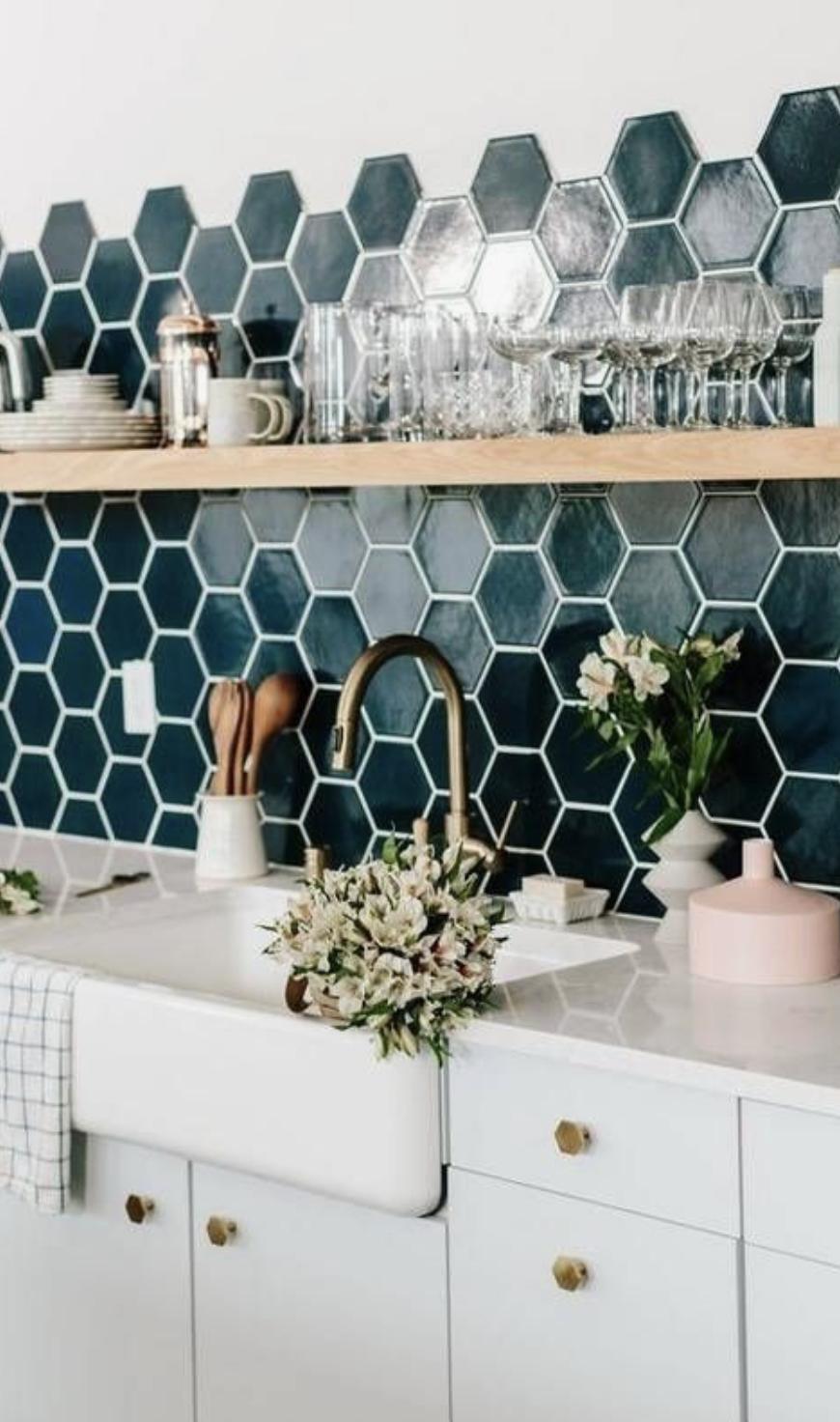 - Mermaid Tile Inspiration Kitchen Backsplash Ideas White