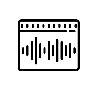 Carte De Visite Sound Wave Icon Waves Android Icons Business Cards Visit