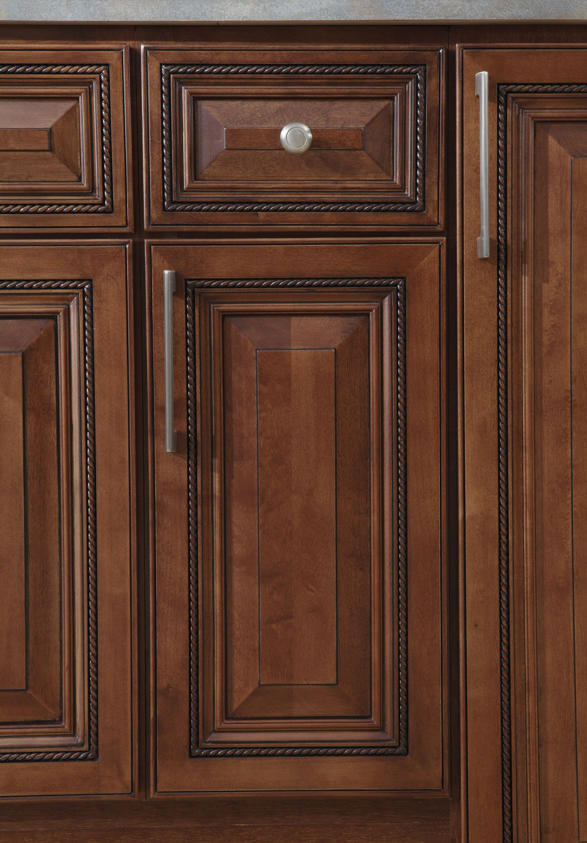 B Jorgsen Co Buckingham Sienna Rope Kitchen Features Soft Closing Drawers Solid Wood Frames And Are Craf Cabinets To Go Handmade Kitchens Kitchen Cabinets