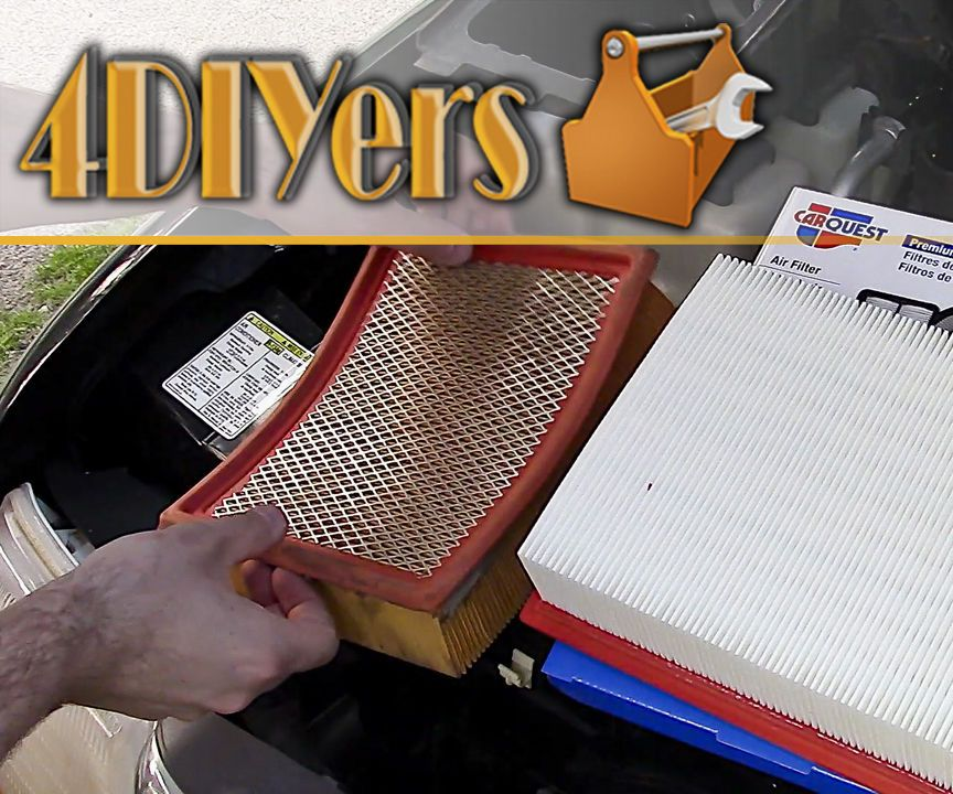 How to Replace an Air Filter Air filter, Filters, Fuel