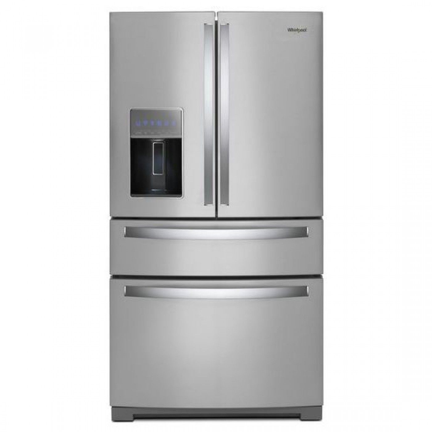 Wrx986sihz By Whirlpool French Door Refrigerators Goedekers Com French Door Refrigerator Stainless Steel French Door Refrigerator Best Refrigerator