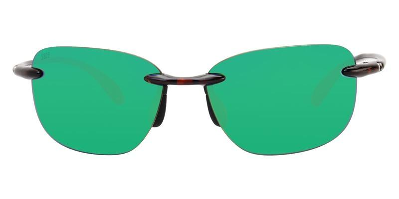 1babf3bcd7 Costa Del Mar Sea Grove Tortoise   Green Lens Mirror Polarized Sunglasses