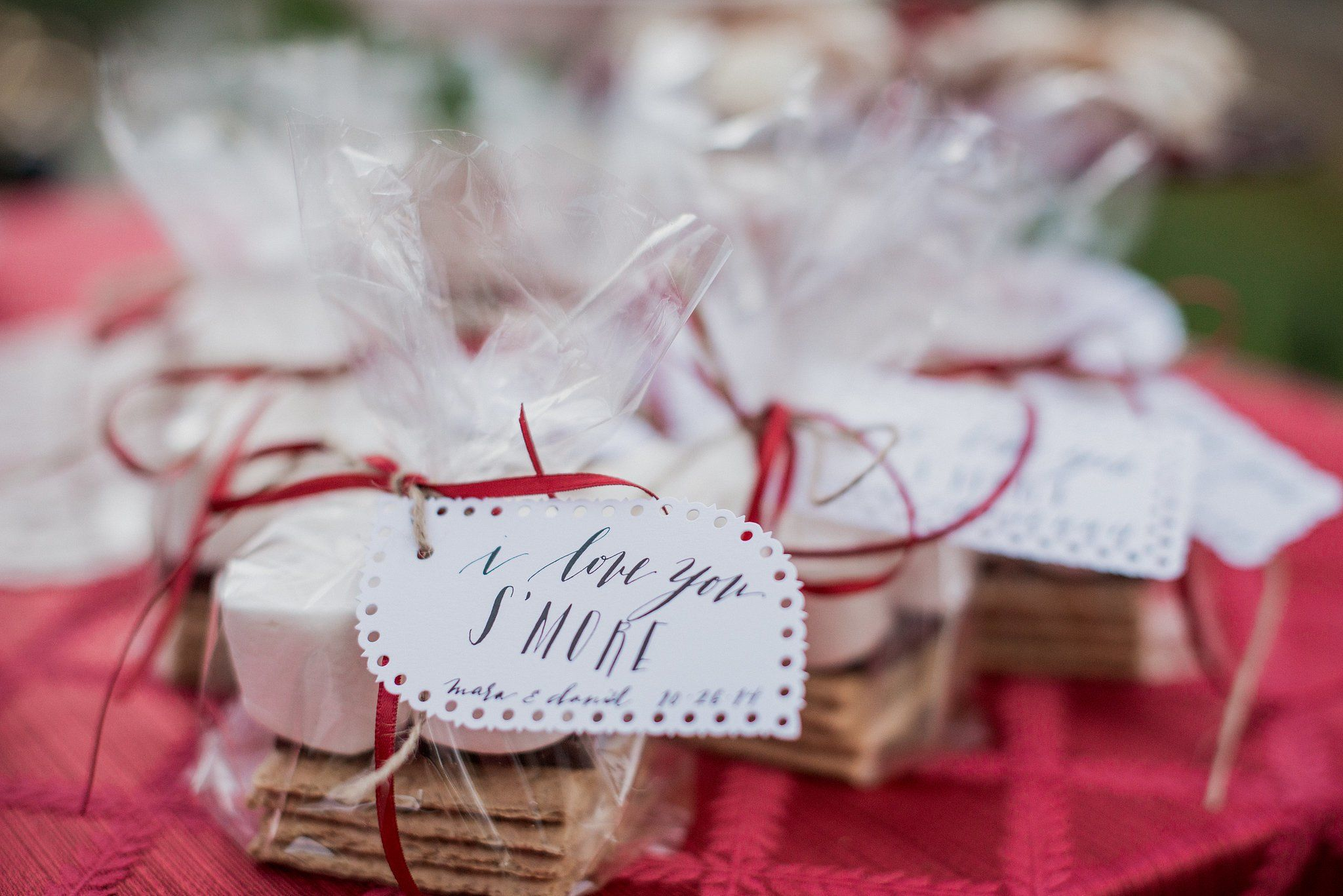 S\'mores   Favors, Wedding and Weddings
