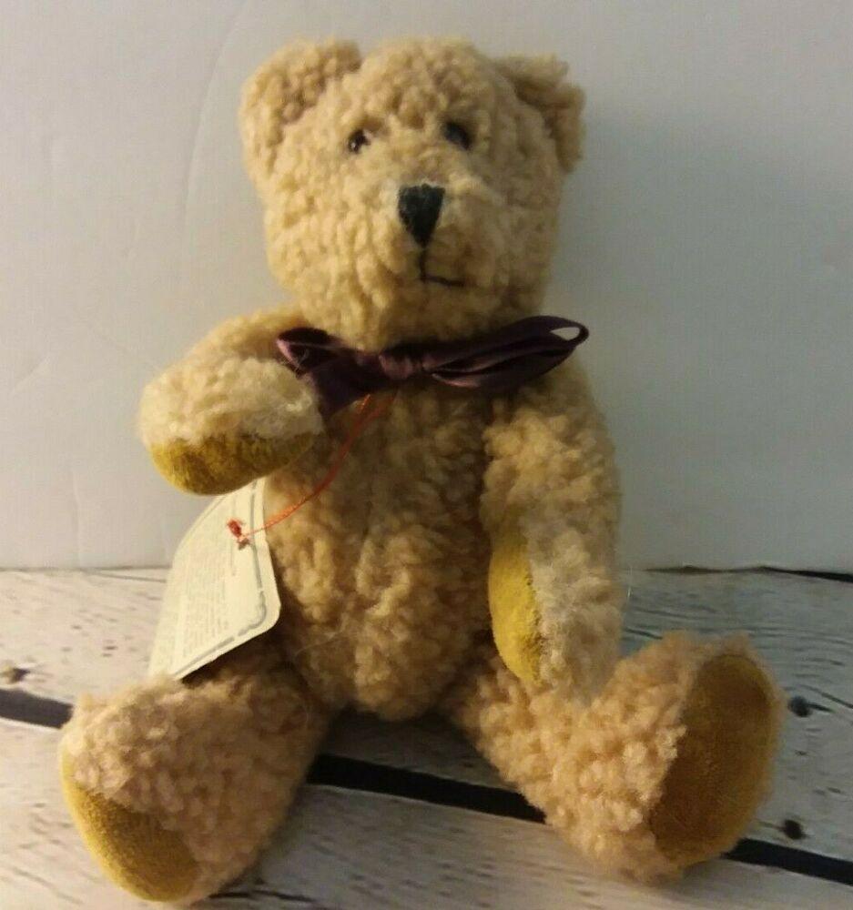 Boyds Bears 8 Federico Plush Bear Stuffed The Archive Collection