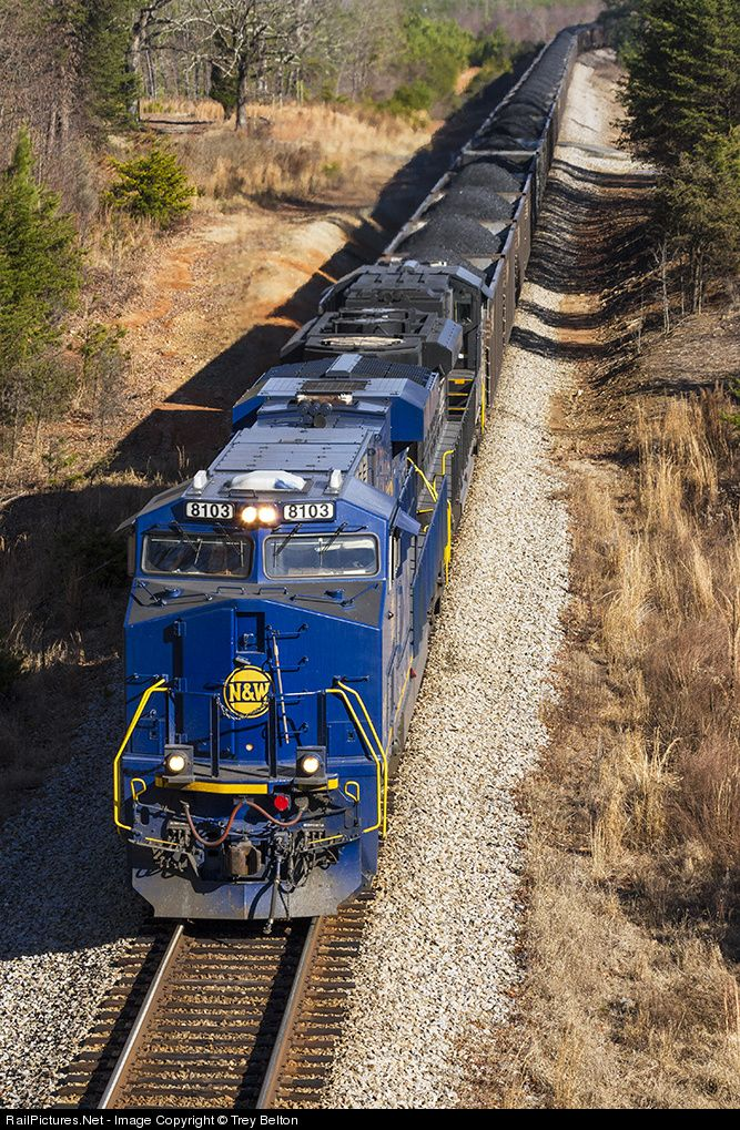 RailPictures.Net Photo: NS 8103 Norfolk Southern GE ES44AC at Stoneville, North Carolina by Trey Belton