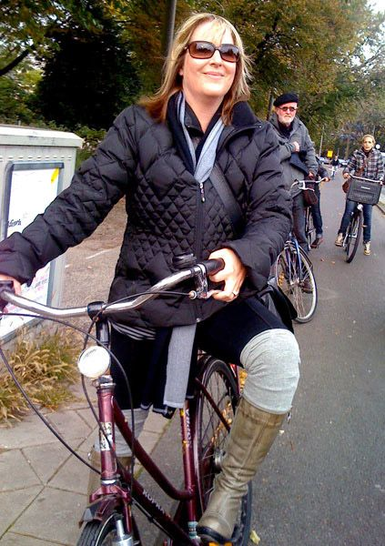 """""""I CRAVE riding my bike around cities, especially Amsterdam. When traveling, it is the best way to see a city, and in my own city, Seattle, my favorite days are when we jump on the Burke Gilman trail and head across town for happy hour."""""""