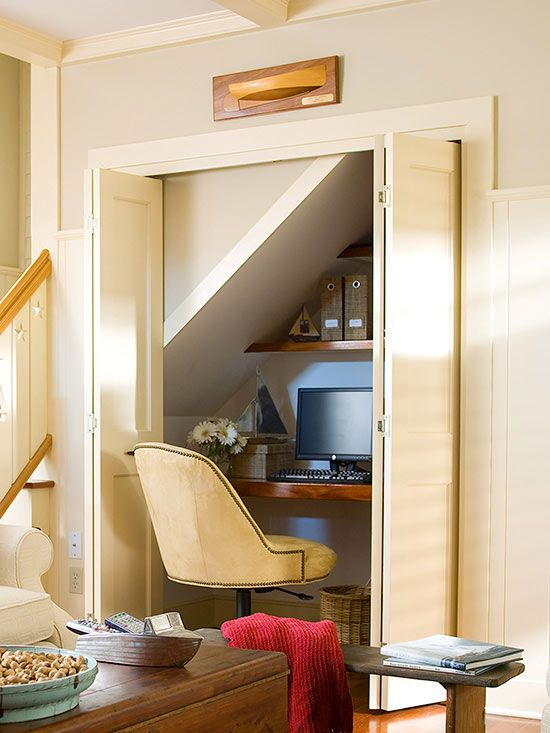 Finding Hidden Storage Around the House | Pinterest | Clever ...