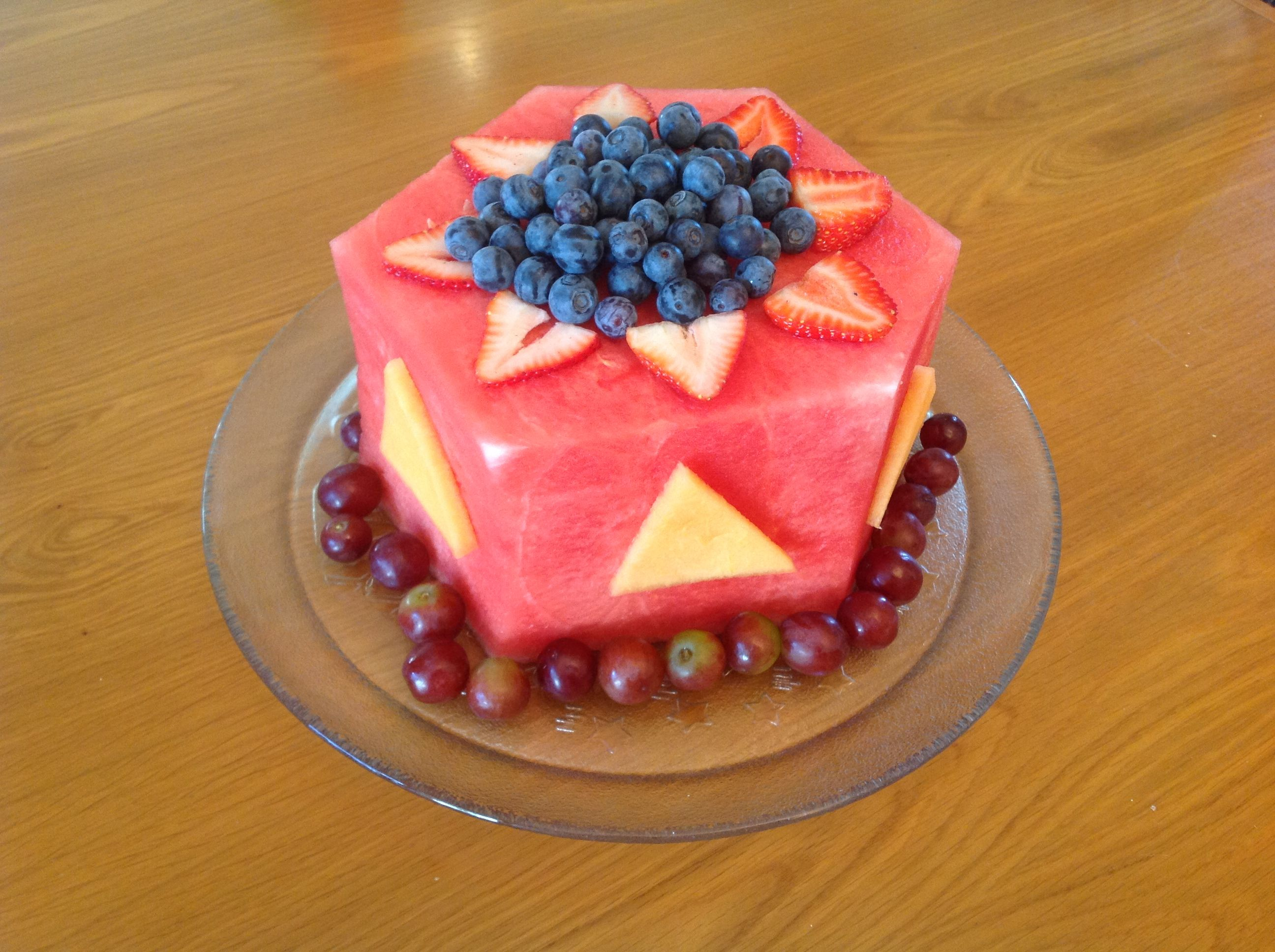 10 Best images about Cakes made from Fruit on Pinterest Birthday
