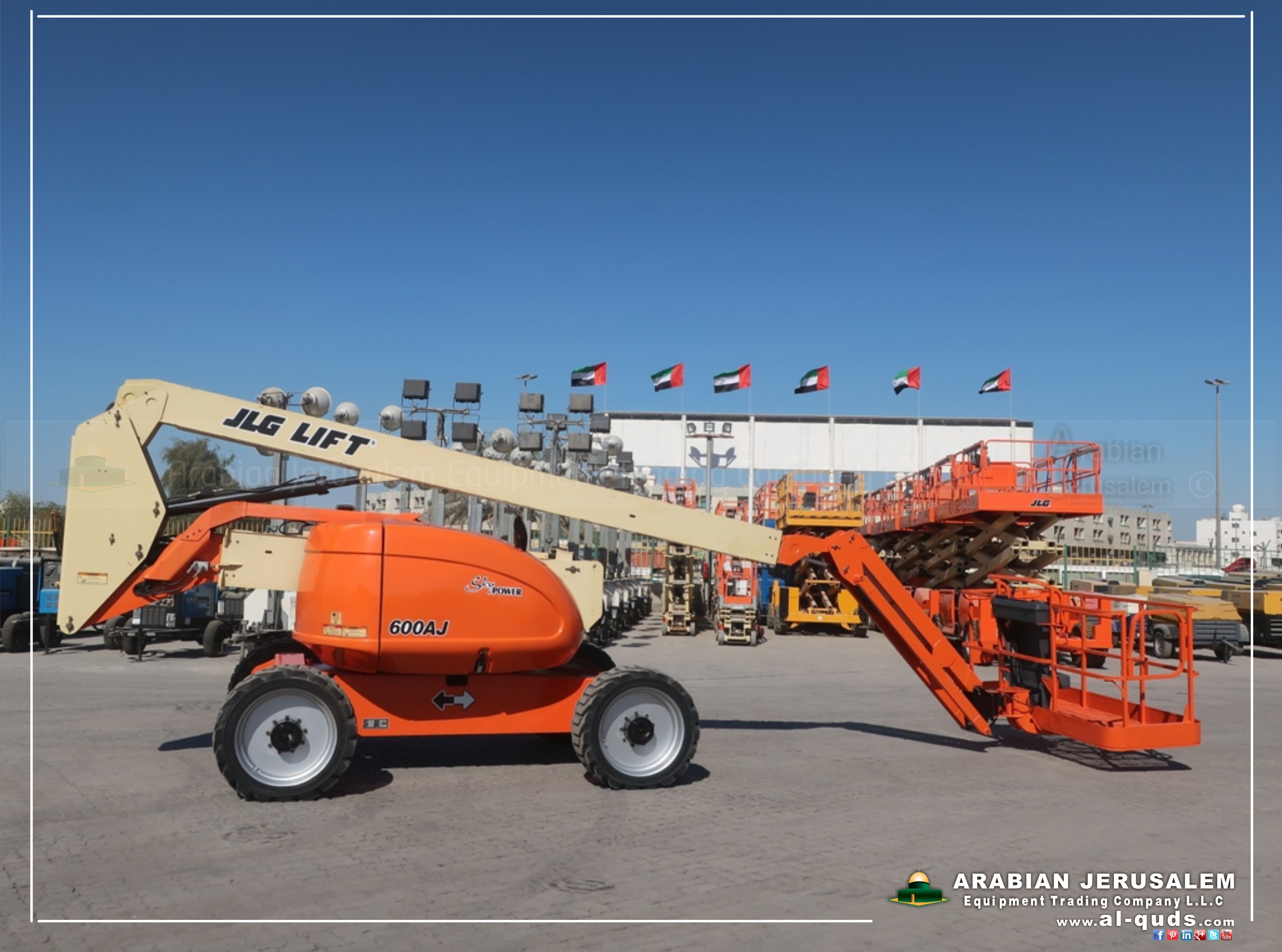 JLG #Boom_Lift_Articulated #600AJ - 2007 - Available in stock