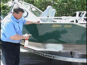 Aluminum Boat Cleaning - Cleaning Pontoons - Clean Aluminum