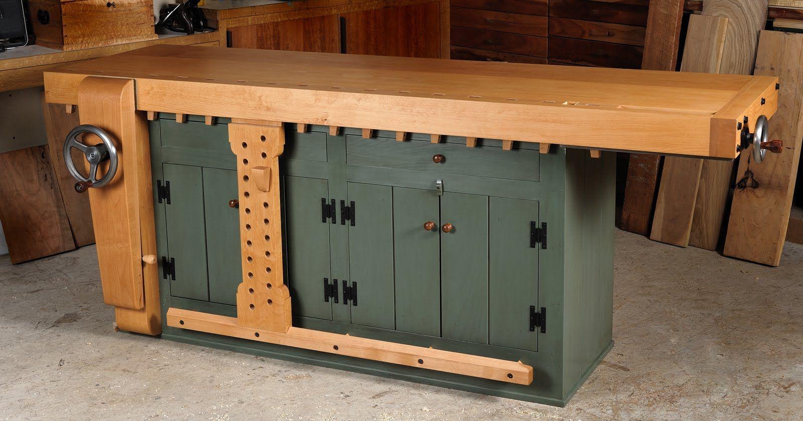 shaker workbench for sale | rare opportunity: shaker-style bench for