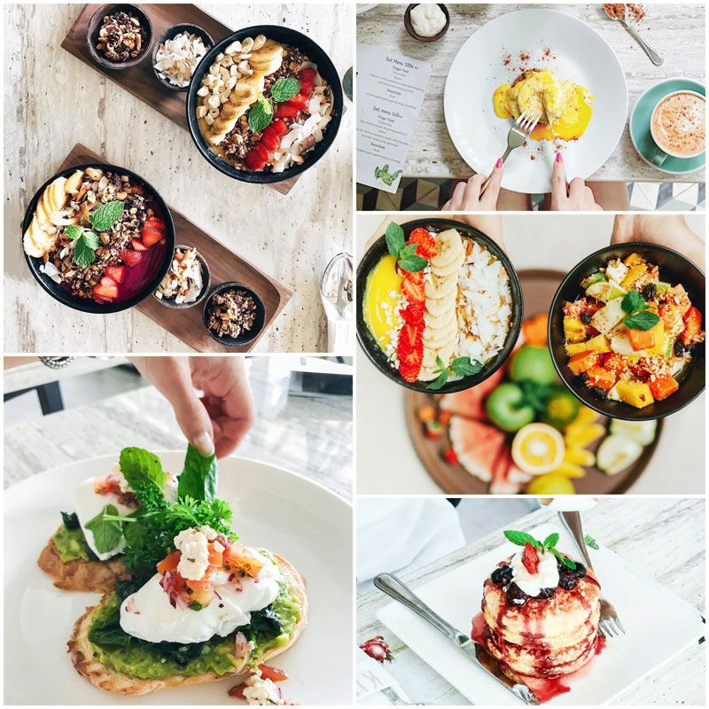15 Affordable And Delicious Breakfast Cafes And Restaurants In Central Bali Seminyak Kuta Ubud Canggu Breakfast Cafe Asian Breakfast Hotel Breakfast