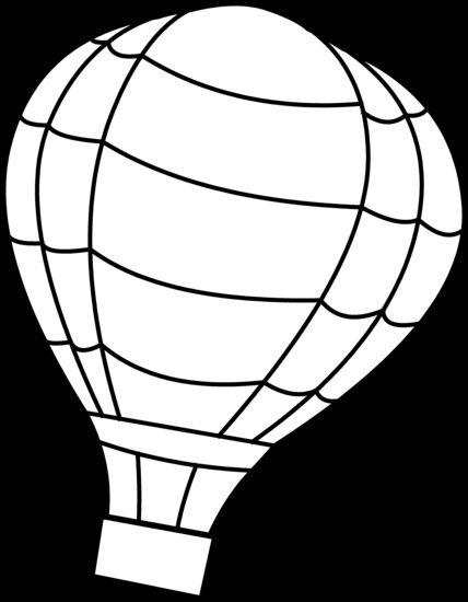 luchtballon voor verjaardagskalender mandje eronder met