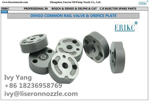 Denso Injector Valve Control valve Denso valve plate Denso injector Spacer Denso control valve for diesel injector 095000-xxx