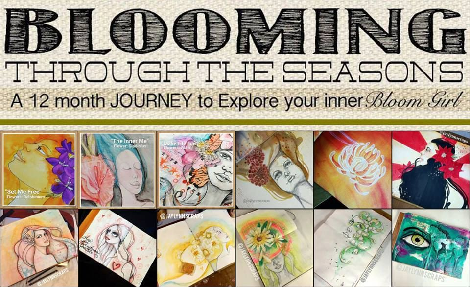 Blooming Through The Season 1 FULL workshop Jamie Dougherty Designs