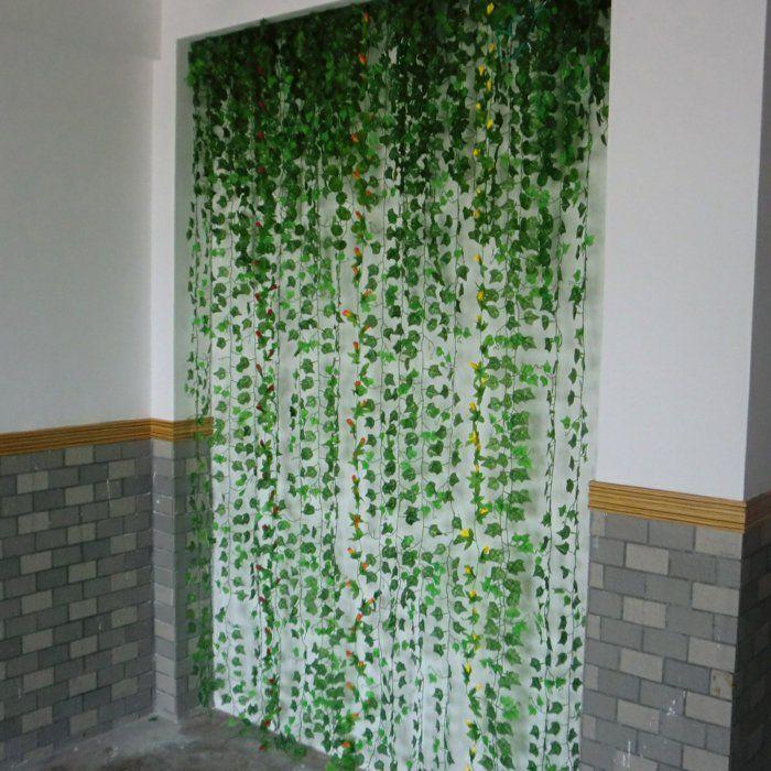 Mit Efeu Sch 246 Ne Deko Basteln Plants Ivy Wall Fake