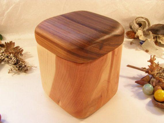 Beau Cedar U0026 Magnolia Wood Box Wood Furniture By Earnestefforts On Etsy, $27.00