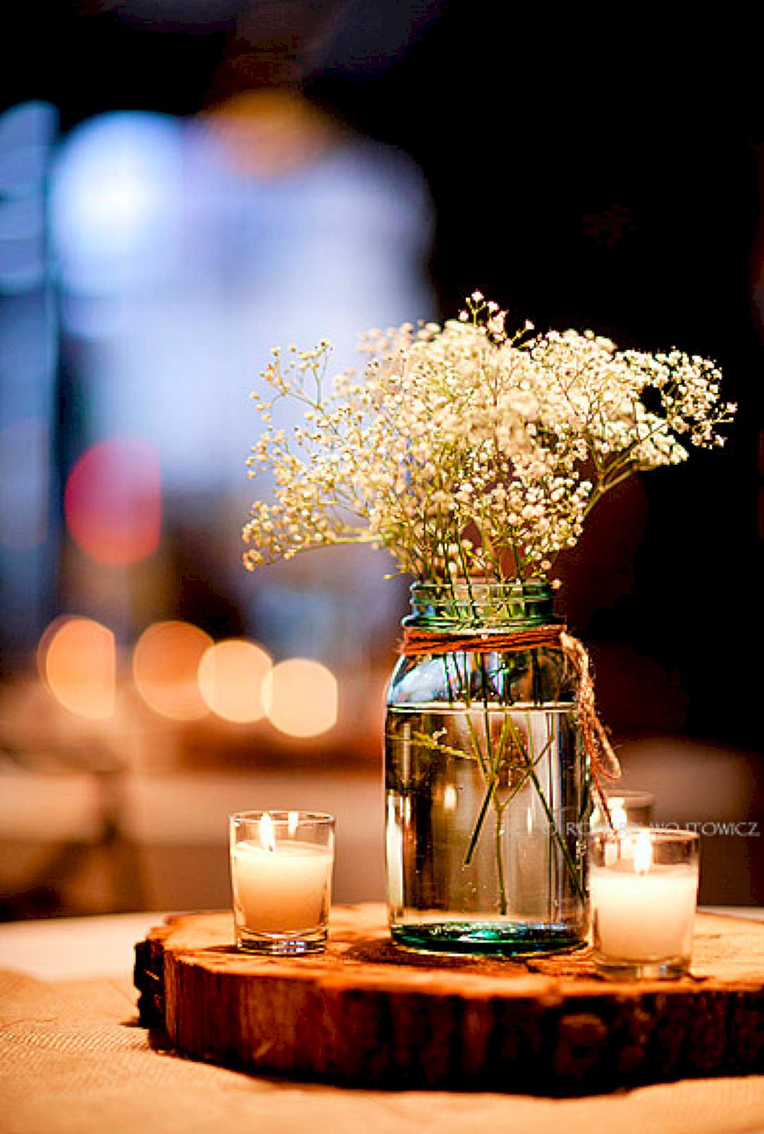 99 Diy Fabulous Rustic Cheap Wedding Centerpieces Ideas Inexpensive Wedding Centerpieces Cheap Wedding Centerpieces Country Wedding Table Decoration