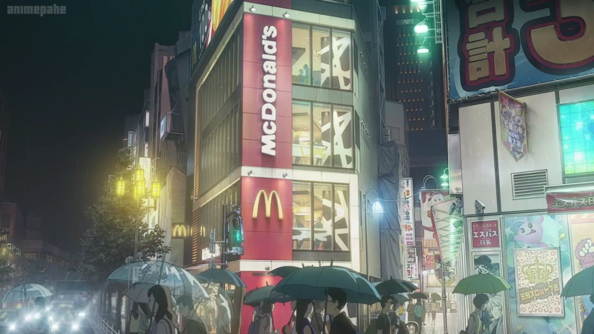 McDonalds anime ver. in 2020 Anime, Weather, Anime movies