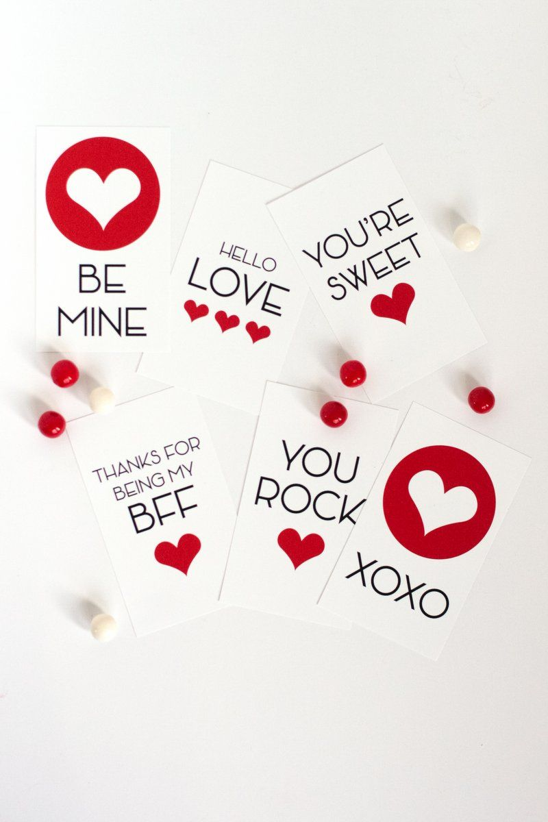 Free Printable Valentines for Kids and Teens   Pinterest ...