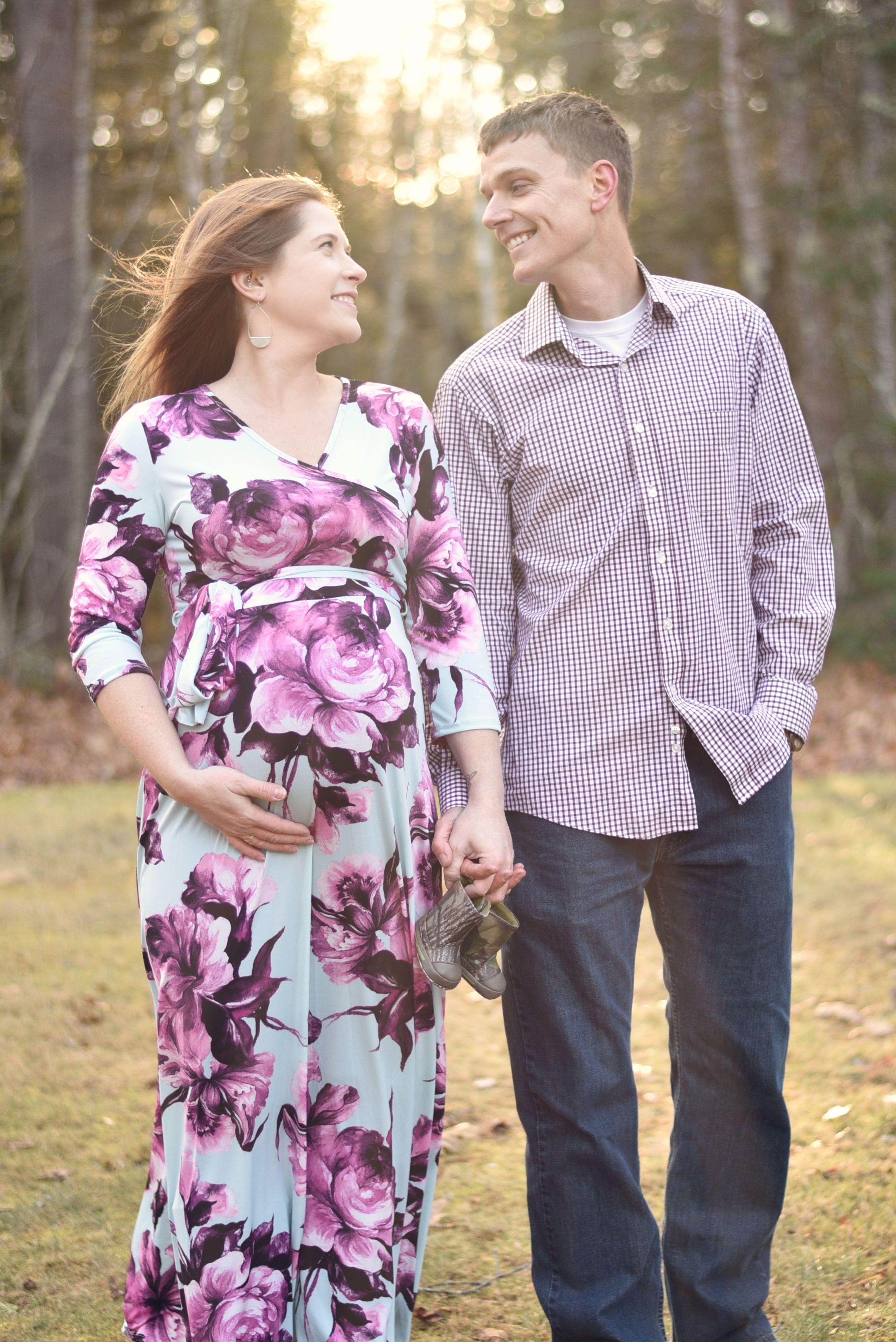 Maine maternity photography coastal photography