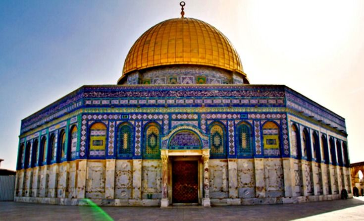 The Dome of the Rock is a masterpiece of Islamic architecture ...