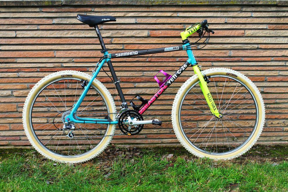 Original Yeti C 26 Mountain Bike Exceedingly Rare Turn Key Carbon Vintage Mtb Vintage Mountain Bike 26 Mountain Bike Bicycle Paint Job