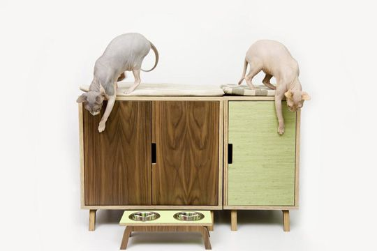 Gatti Mobili ~ Modernist cat mid century modern feline furniture gatti mobili
