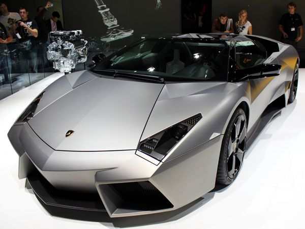 Lamborghini Reventon (2009–2010)  Limited to just 20 production cars sold to the public, the Reventon rePresents the future of Lamborghini design. Its style, both inside and out, is inspired by stealth military jets.