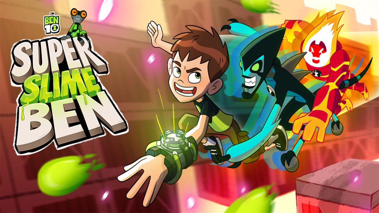 Ben 10 Super Slime Ben Cartoon Network Ben 10 Ben 10 Birthday Party
