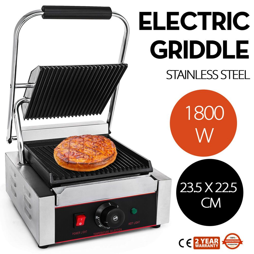 Ebay Sponsored Commercial Electric Contact Press Grill Griddle