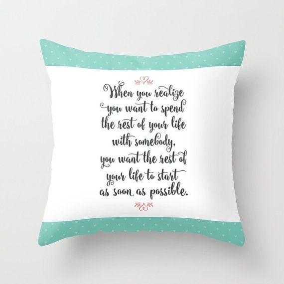 When Harry Met Sally Quote Throw Pillows Pastel Decorative Pillows Mesmerizing Decorative Pillows With Quotes