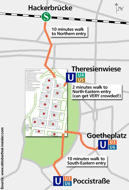 Surrounding map of Oktoberfest Munich  sc 1 st  Pinterest & Surrounding map of Oktoberfest Munich | Back pocket | Pinterest ...