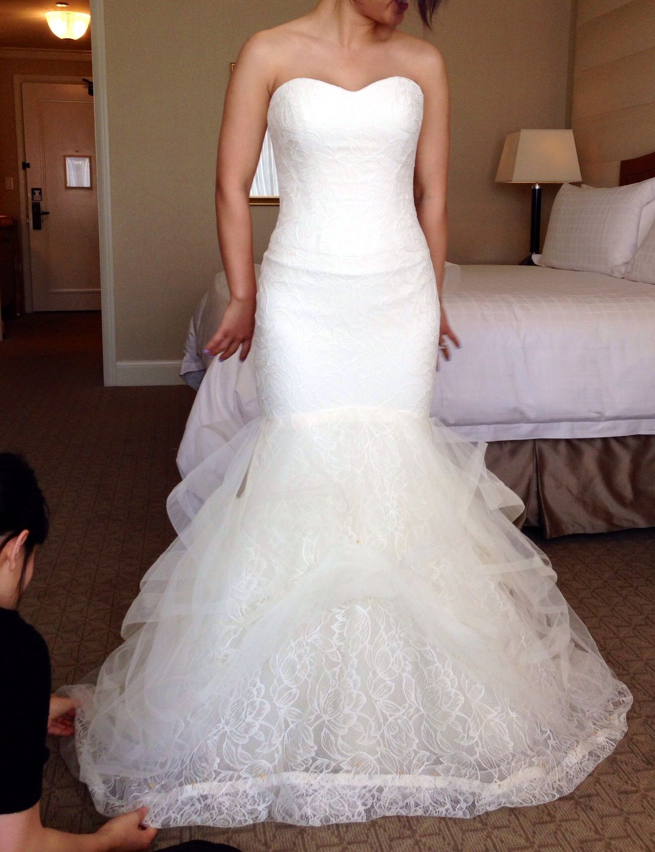 867e3759fb40 Vera Wang Lillian Wedding Dress Cost | Saddha