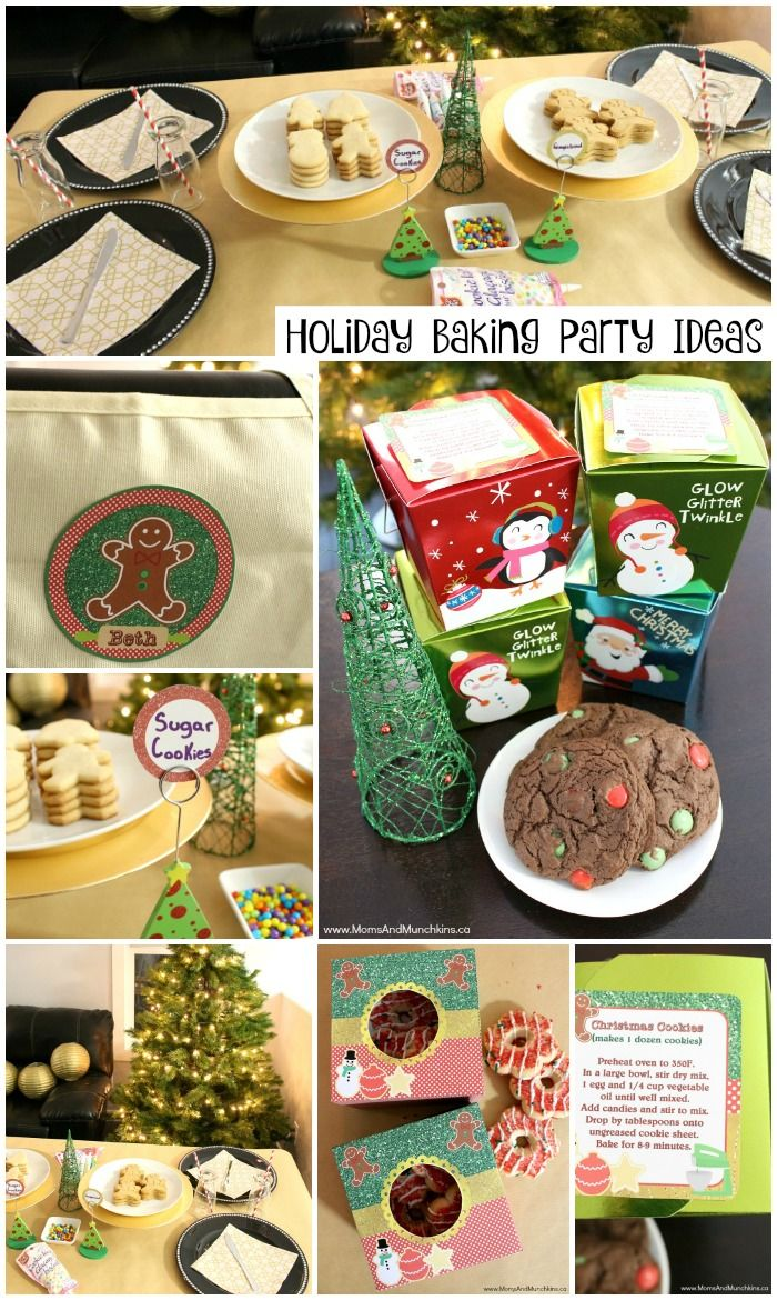 Christmas Baking Party Ideas Part - 20: Holiday Baking Party For Kids