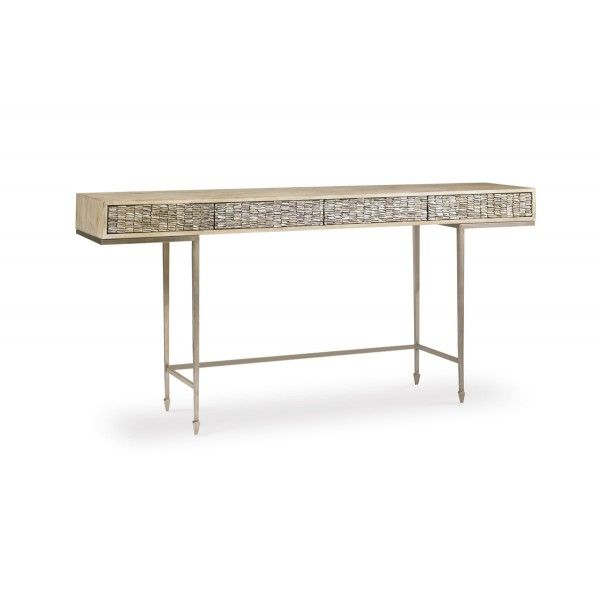 Modern Artisan Console Table | Caracole | Star Furniture | Houston, TX  Furniture | San