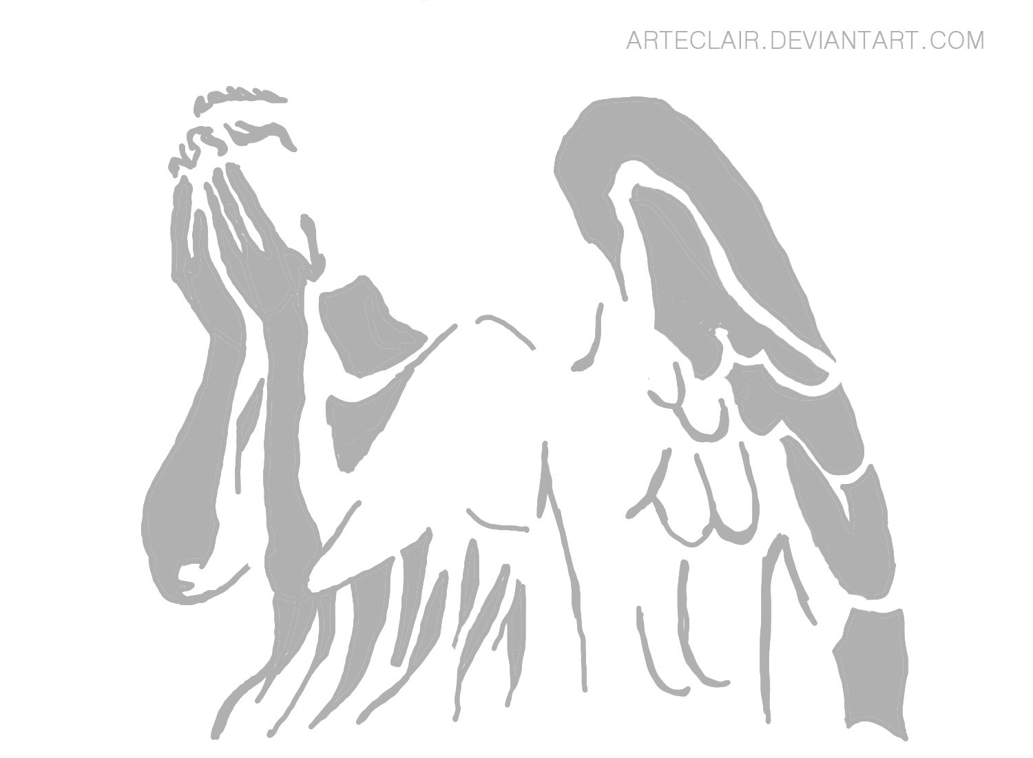 Awesome Weeping Angel pumpkin stencil. | Doctor Who ...